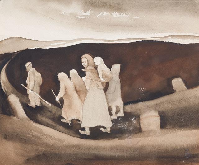 Doris Homann, 'Retirantes', 1930-1970, Ligia Testa Espaço de Arte
