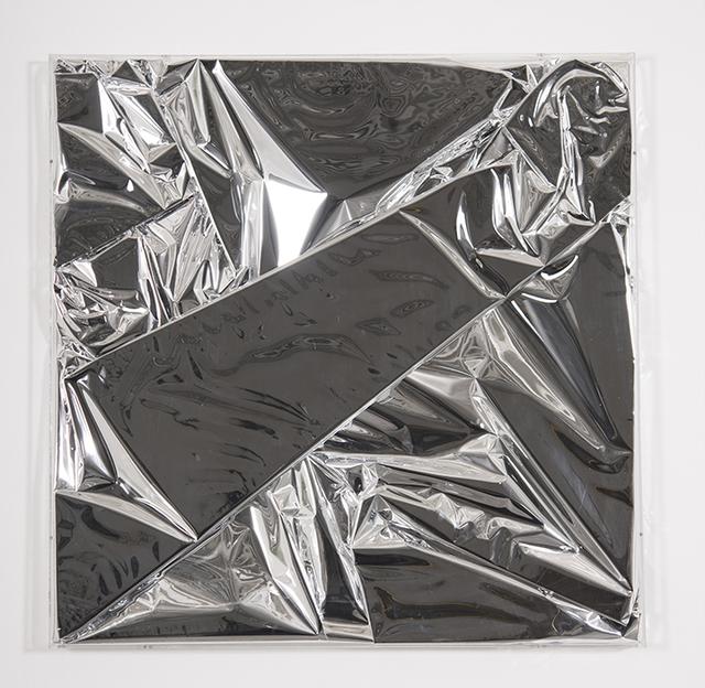 , 'Mylar Silver 2,' 2017, Galleria Ca' d'Oro