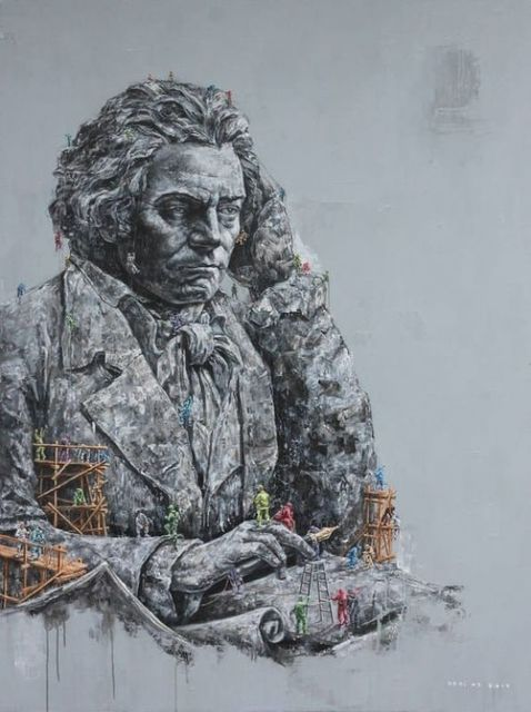, 'Ode to Ludwig Van Beethoven,' 2011, Ode to Art
