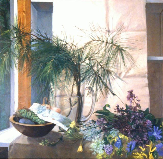 , 'August,' 1994, Atrium Gallery