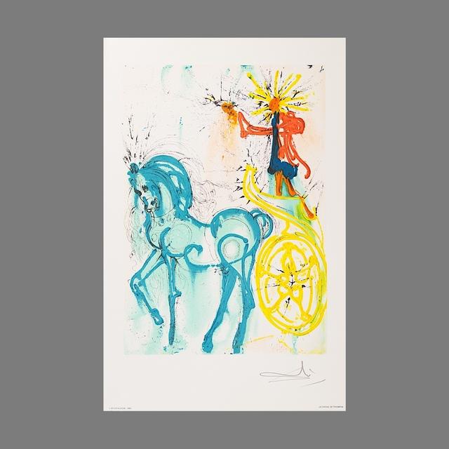 Salvador Dalí, 'Le Cheval de Triomphe (Horse of Triumph)', 1983, Print, Lithograph on Vélin d'Arches Paper, Art Lithographies