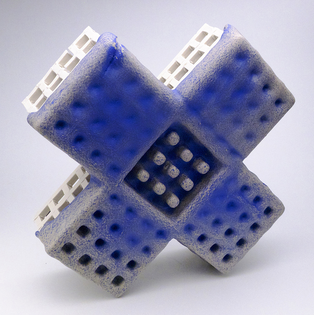 , 'Blue X,' 2014, Ferrin Contemporary