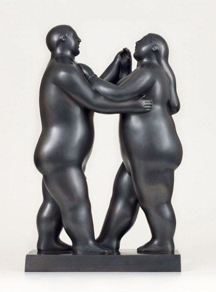 , 'Dancing Couple,' 2012, David Benrimon Fine Art