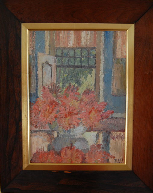 , 'Red dahlias,' 1939, Robert Eagle Fine Art