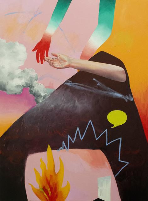 , 'Frontera,' 2019, Gallery at Zhou B Art Center