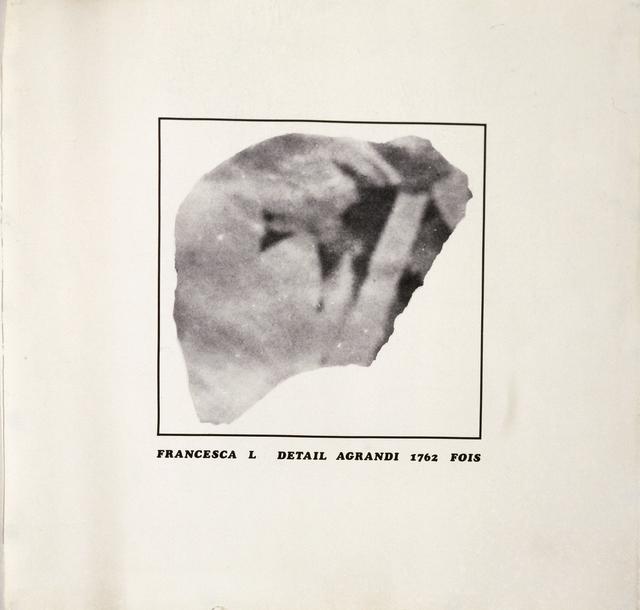 , 'PARTICOLARE DA FRANCESCA L.,' ca. 1970, Studio Guastalla
