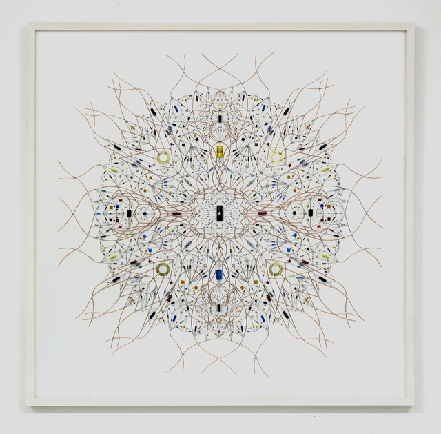 , 'technological mandala 52 _ solaris,' 2015, The Flat - Massimo Carasi