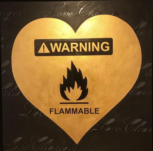 , 'Flammable,' 2015, Octavia Art Gallery