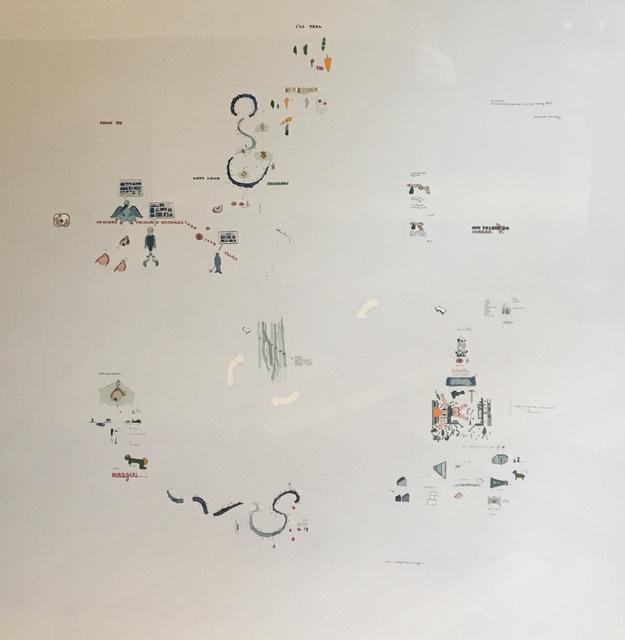 , 'Projet d'oiseau faiseur d'histoires transversales,' 1977, Galerie du Griffon
