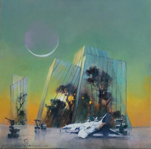 , 'Survival,' 2017, IX Gallery