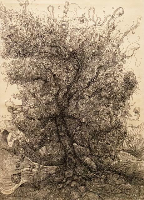 , 'Tree II 树 二,' 2010, Galerie Dumonteil