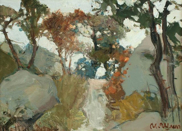 Igor Shipilin, 'Trees and Rocks', 2001, Paul Scott Gallery & galleryrussia.com