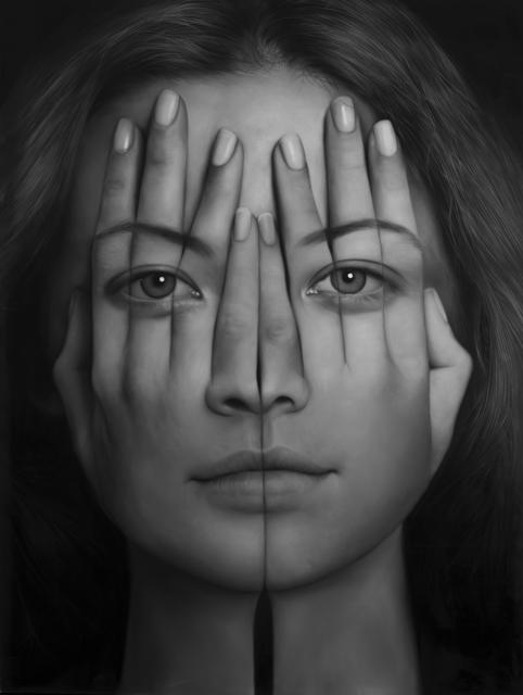 , 'K Mirror,' 2017, Allouche Gallery