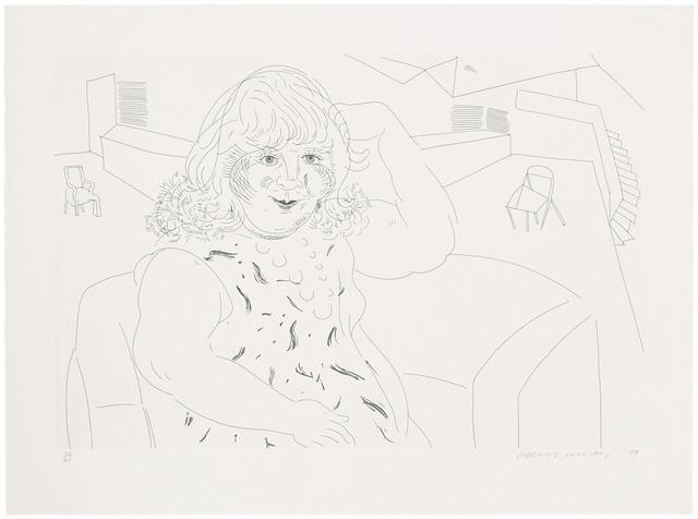 David Hockney, 'Ann in the Studio', 1984, Christie's