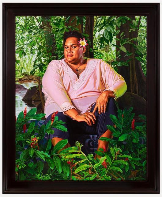 Kehinde Wiley, 'Portrait of Geysha Kaua', 2019, Templon
