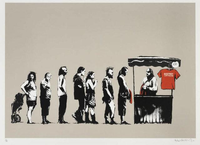 Banksy, 'Festival', 2006, Taglialatella Galleries