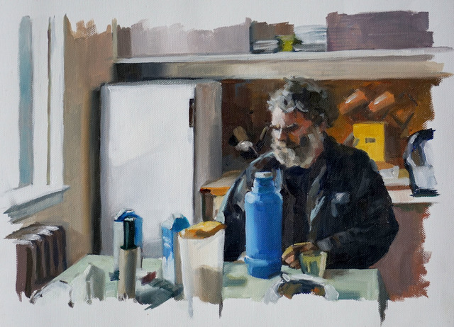 Maria and Natalia Petschatnikov, 'Iceland - Farmer, Kitchen', 2019, Stern Wywiol Galerie