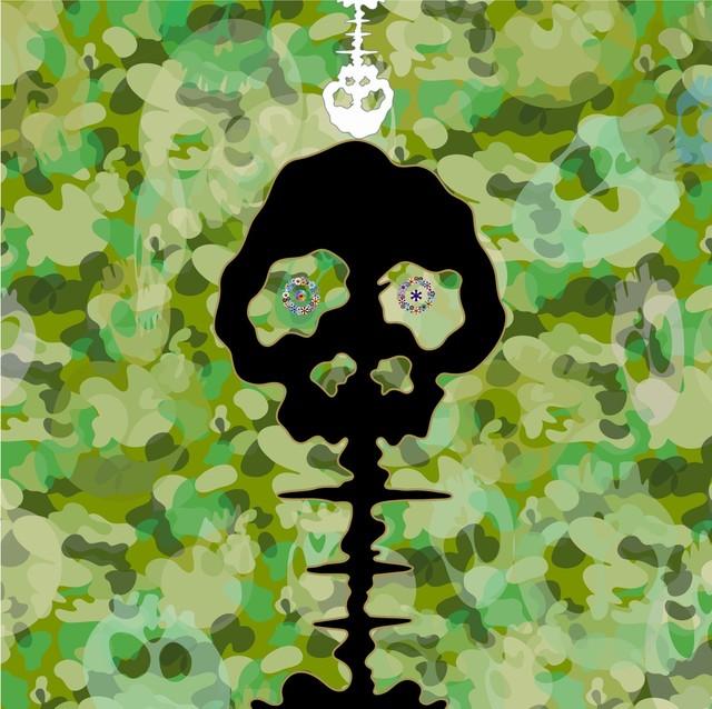 Takashi Murakami, 'TIME - camouflage moss green', 2009, Gagosian