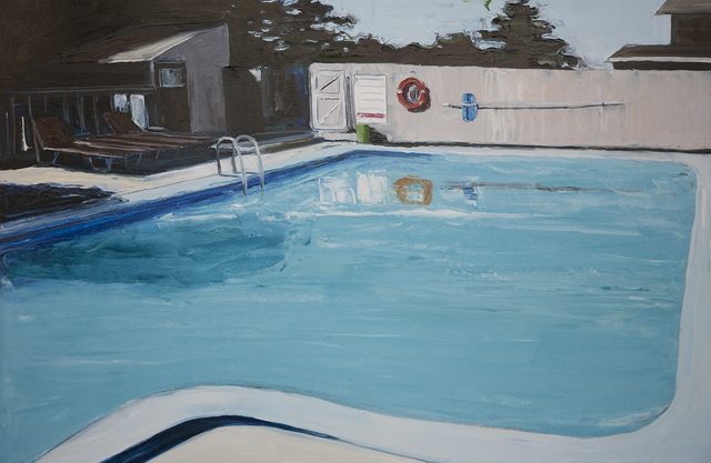 , '70s Pool Club,' 2015, Linda Hodges Gallery