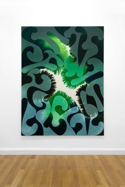 Giacomo Santiago Rogado, 'Accord 6 (Amazon),', 2020, Painting, Mixed Media on Cotton, Bernhard Knaus Fine Art
