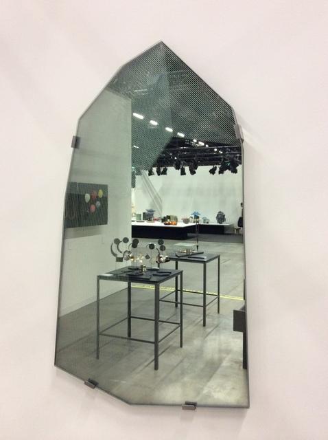 Study O Portable, 'Parallel mirror', Design/Decorative Art, Glass, steel, Caroline Van Hoek