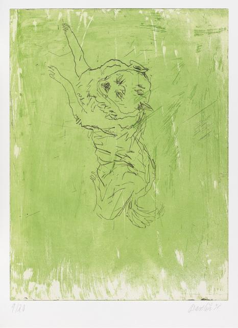 ", 'Bello, from ""Schlafende Hunde"",' 1998-1999, Gagosian"