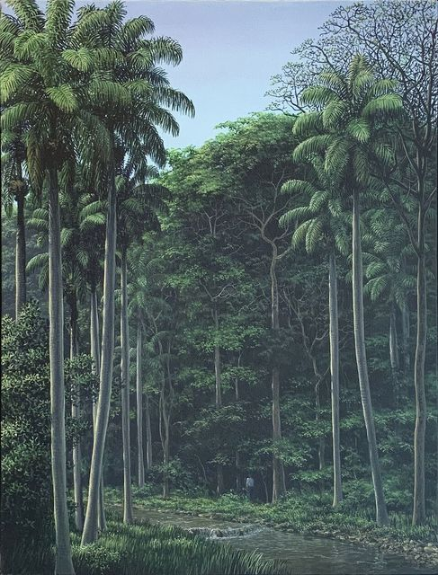 Tomás Sánchez, 'Hombre y Arroyo / Man and Delta', 1990, LNS Gallery