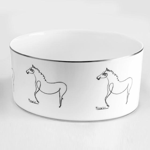 Pablo Picasso, 'Serving Bowl (The Horse)', 2016, Design/Decorative Art, Porcelain with silver trim, Artware Editions