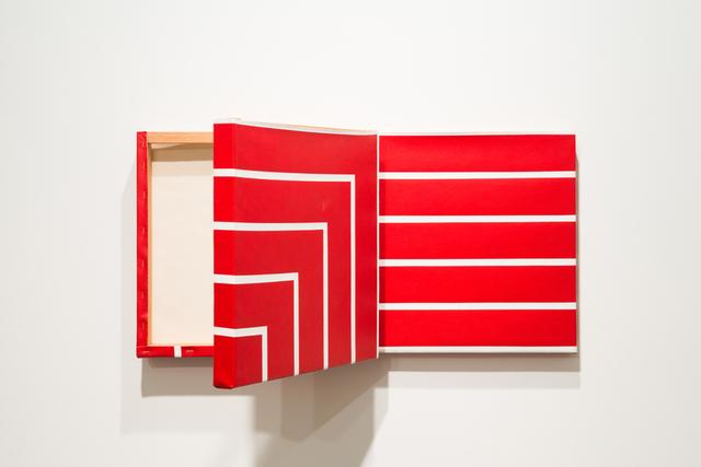 , 'Pinturas-degrau (vermelha),' 2015, Luciana Caravello Arte Contemporânea