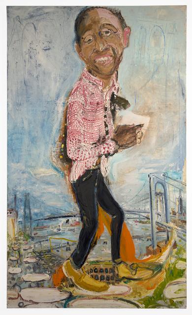 , 'Garnette Walking, Garnette Cadogan,' 2017, FRED.GIAMPIETRO Gallery