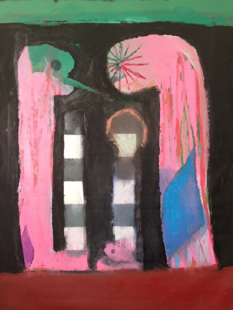Rhys Lee, 'Pink snakes', 2017, Ruttkowski;68