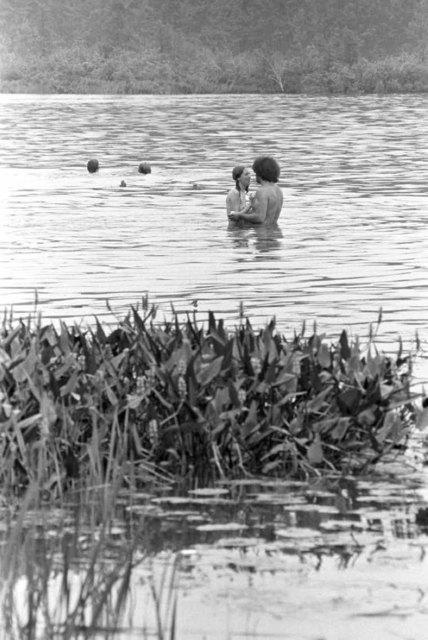Baron Wolman, 'Woodstock 1969, Couple in the Lake', 1969, IFAC Arts