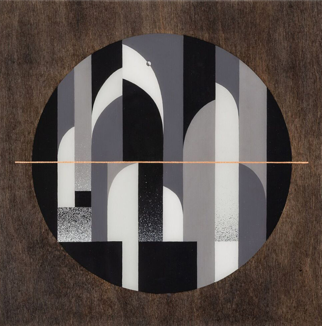 , 'Kips Bay Moon,' 2018, Galerie Matthew Namour