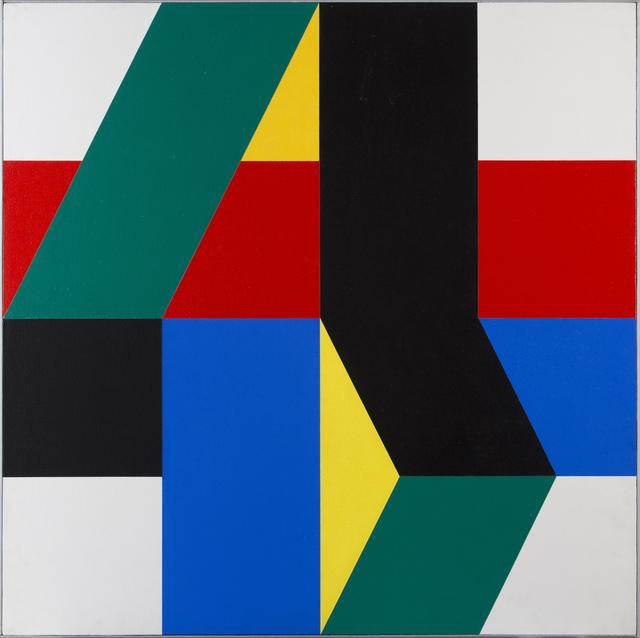 , 'Nº 6 Amarillo [No. 6 Yellow],' 1972, GALERÍA JOSÉ DE LA MANO