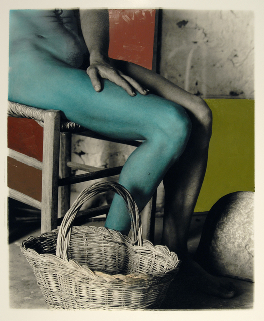 , 'Nancy with a Green Leg,' 2005, Nina Johnson