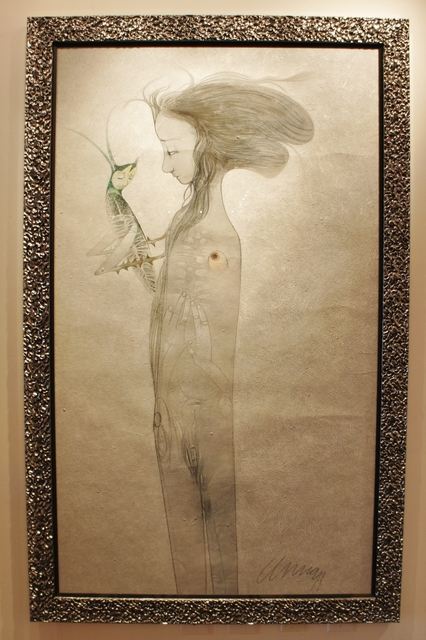 Pedro Pablo Oliva, 'Muchacha conversando con un grillo', 2011, L&E Private Art Collection