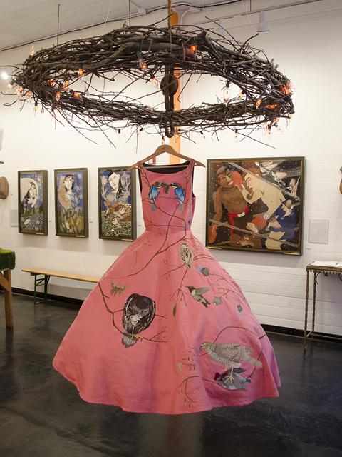 , 'Birds of Prey Dress - Pink,' 2014, Antieau Gallery