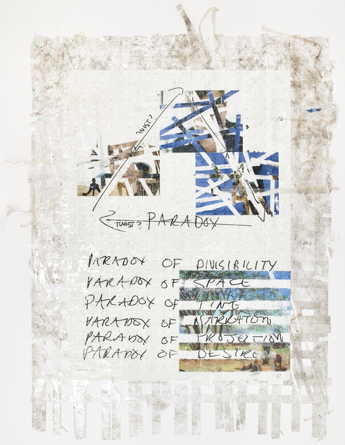 , 'Sticky-tape Transfer 29 - Zeno's WYE,' 2017, Goodman Gallery