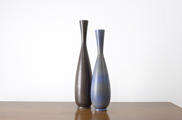 , 'Pair of Studio Vases, Gustavsberg, Sweden,' ca. 1950, Hostler Burrows