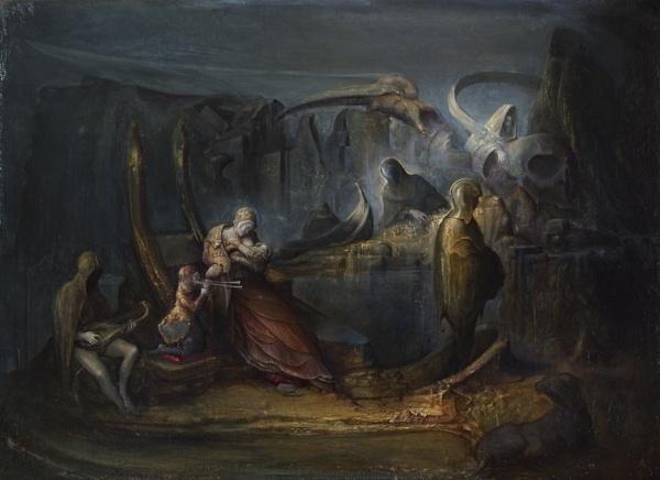 , 'Cantica infernale,' 2014, Galleria Giovanni Bonelli