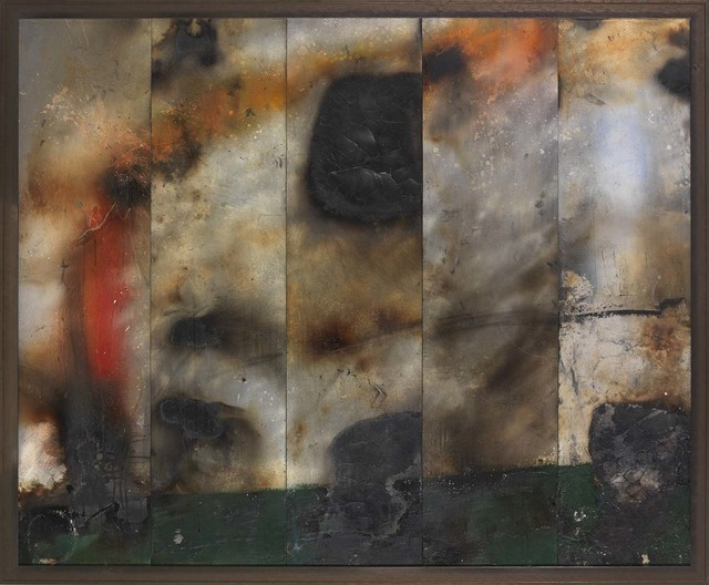 , 'Fire Painting XX,' 2017-2018, Osborne Samuel