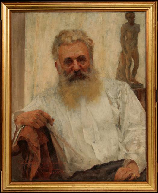 VLAHO BUKOVAC, 'Portrait of Captain Köller', 1897, Museum of Modern Art Dubrovnik