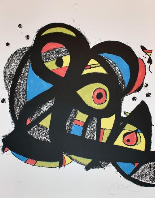 Joan Miró, 'Escriptors en Llengua Catalana', 1981, Georgetown Frame Shoppe