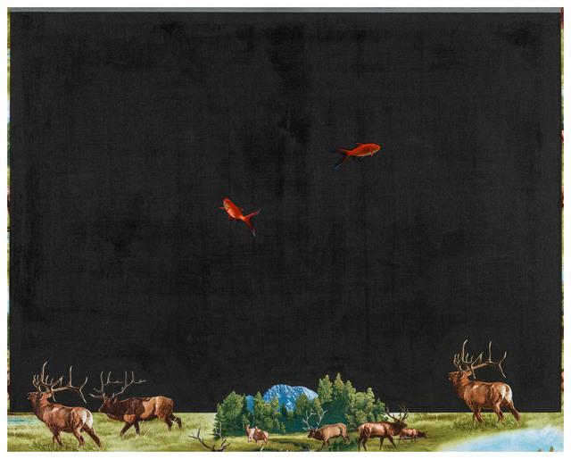 Chi Chien 齊簡, 'Elk', 2017, Affinity ART