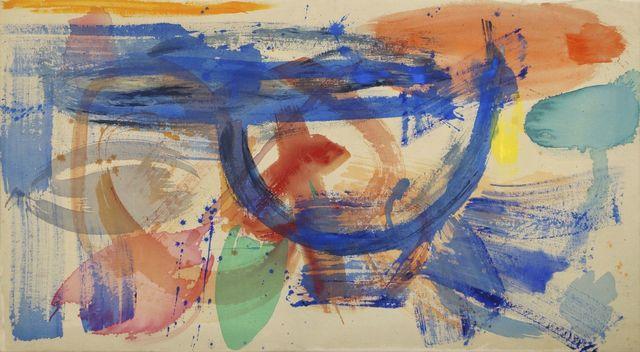 Mali Morris, 'Cyprus Sea II', Painting, Acrylic on canvas, Roseberys
