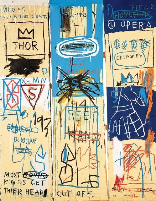 Jean-Michel Basquiat, 'Charles the First', 1983, Guggenheim Museum