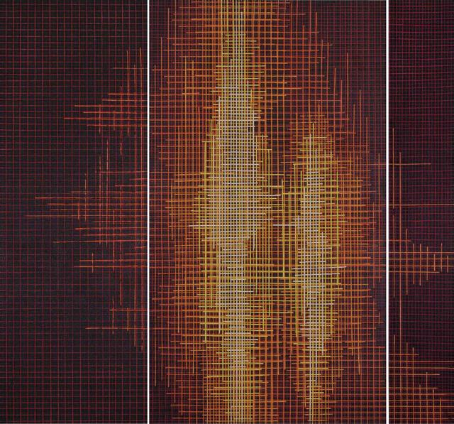, 'Chaos (triptych),' 2014, Sanat Initiative