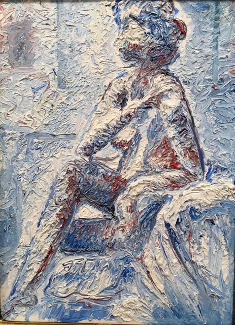 John Shelton, 'Nude in Blue', 2016, John Shelton American Art