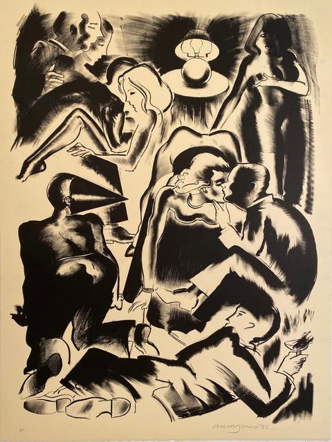 Allen Jones, 'High Society', 1985, David Lawrence Gallery