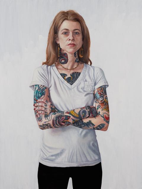 , 'deer jerk,' 2014, RJD Gallery